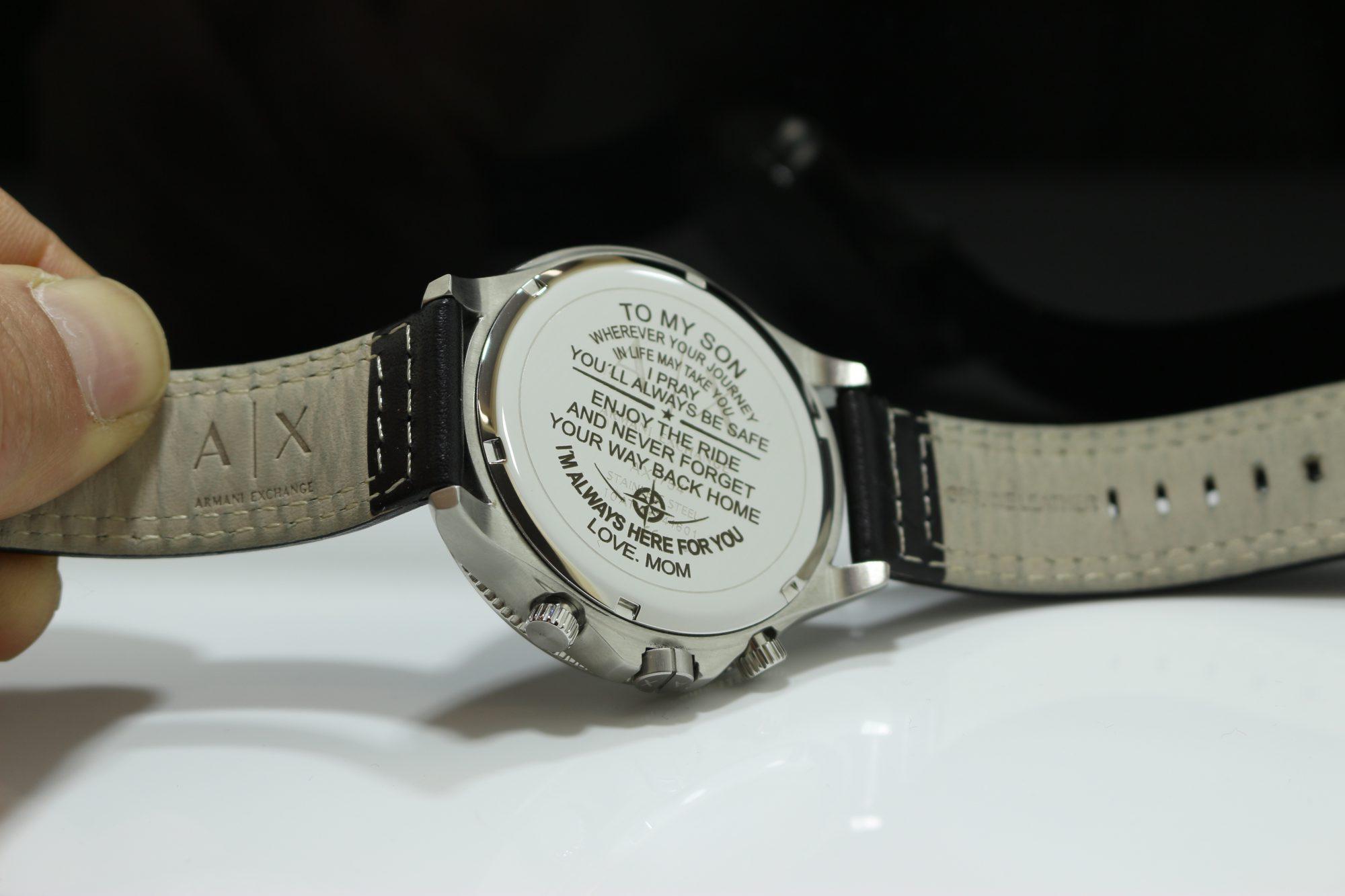Gravur Armbanduhr